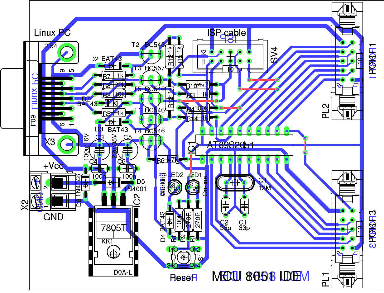 Ide To Usb Cable Wiring Diagram Library Photo Of The Pcb
